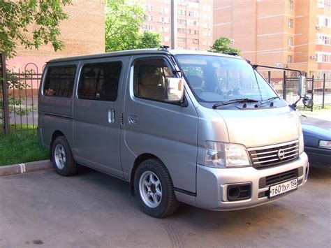 used 2004 nissan caravan photos 2400cc gasoline fr or
