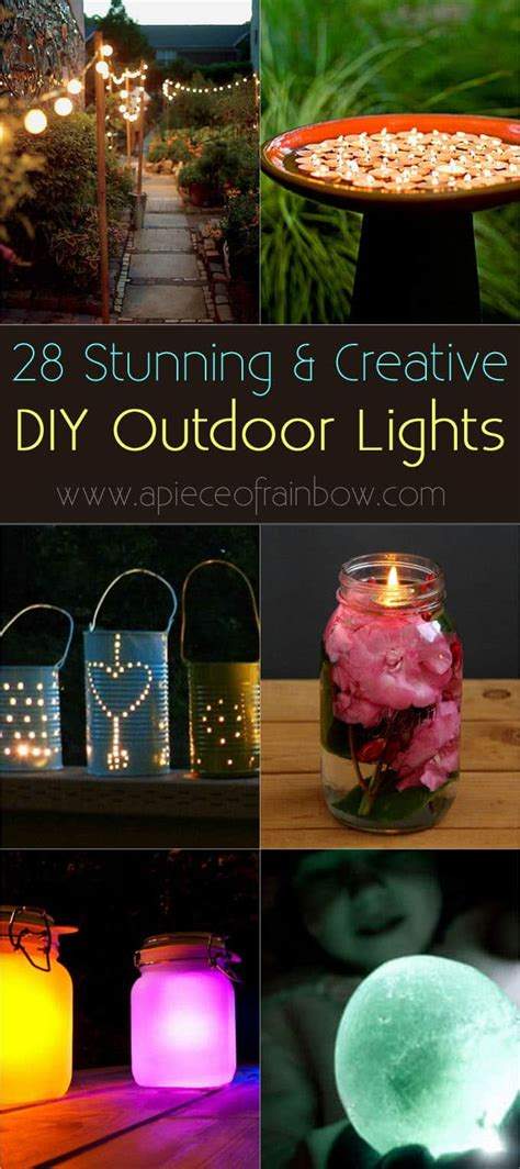 Home Garden Diy Tutorials Creative Design How Tos Creative Outdoor Lighting Display Ideas
