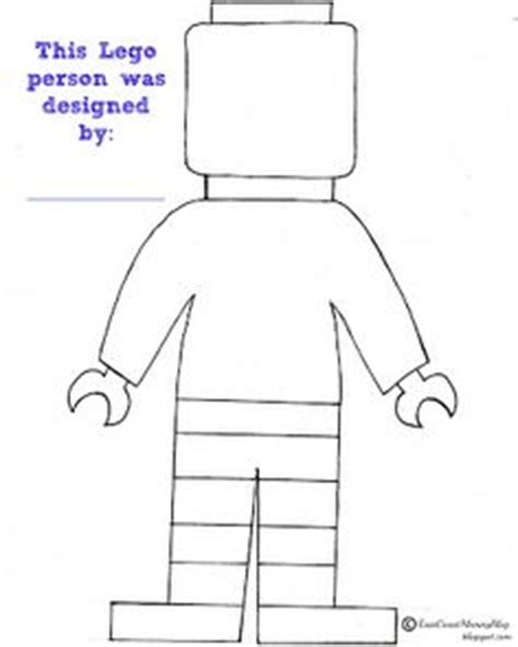 your own human my own human books lego figure coloring free quot make your own quot color in lego
