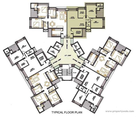 school layout plan india oberoi woods goregaon east mumbai residential project