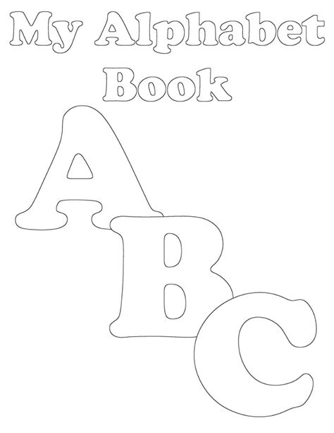 printable alphabet book pdf preschool alphabet book uppercase a from abcs to acts