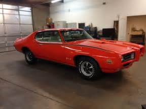 Pontiac Judge Gto 1969 Pontiac Gto Judge 2 Door Coupe 161894