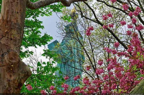 Le Les by New York Au Printemps Le De Photo Paysage