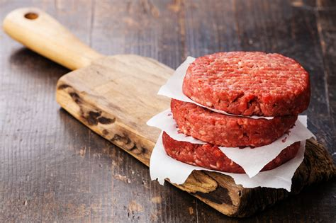 Beef Patties Burger Endura 1kg black angus beef burger patties cleaver
