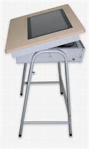 Small Touch Desk L China Touch Tablet E Desk Solution China E Desk Touch Tablet
