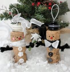 weihnachts dekoration weihnachtsdekoration aus korken zum selbermachen
