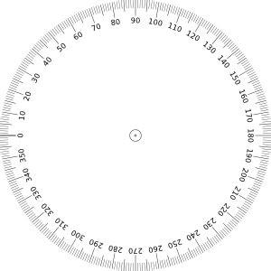 printable protractor 2 per page 360 degrees angle clip art at clker com vector clip art