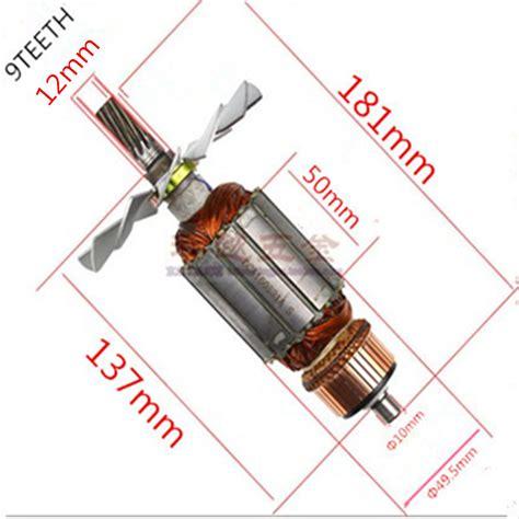 Stator Makita 5900b ac 220 240v 9 teeth armature motor replacement for makita