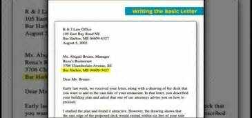 how to write a basic business letter 171 resumes