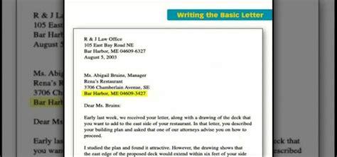 business letter writing basics business letter writing basics business letter writing