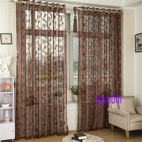 living room panel curtains fashion window screening tulle finished luxury curtains