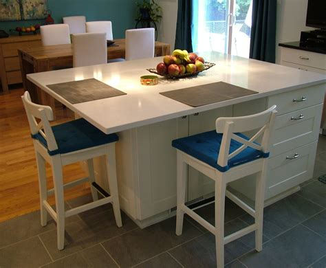How To Design A Kitchen Island With Seating Ikea Kitchen Islands With Seating