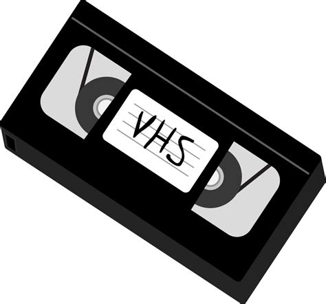 cassette vhs file vhs diagonal svg