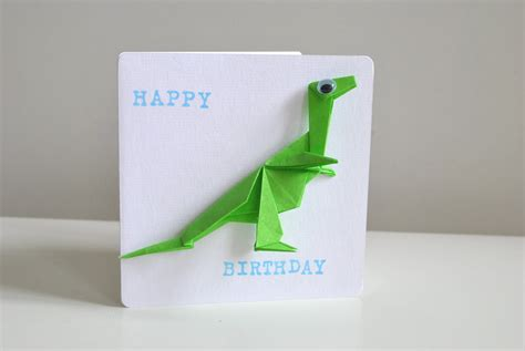Origami Birthday Card - item details