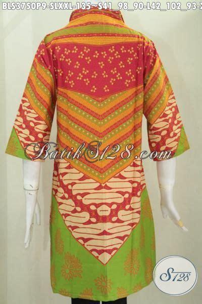 Baju Batik Resmi Elegan batik blus halus model istimewa baju batik elegan trend terbaru kwalitas halus proses printing
