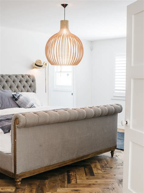 restoration hardware chesterfield sleigh bed copy cat chic