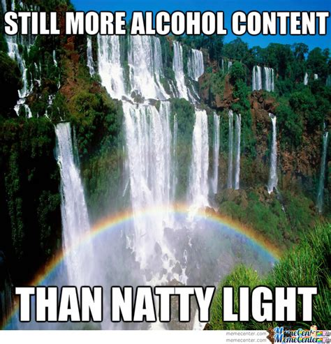 who makes natural light beer natural light beer burn by thespicyside meme center