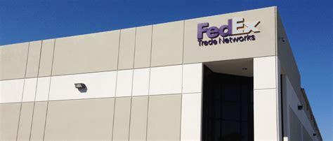 fedex trade networks houston tx distribution facility