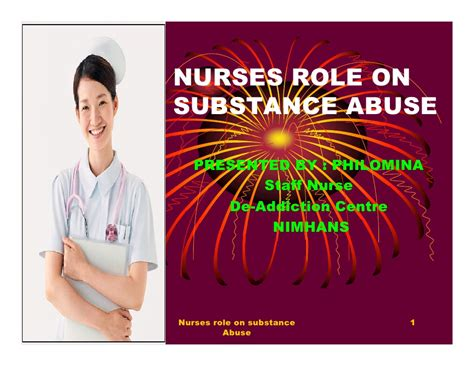 Detox Medications For Nursing by Nurses On Substance Abuse By Philo