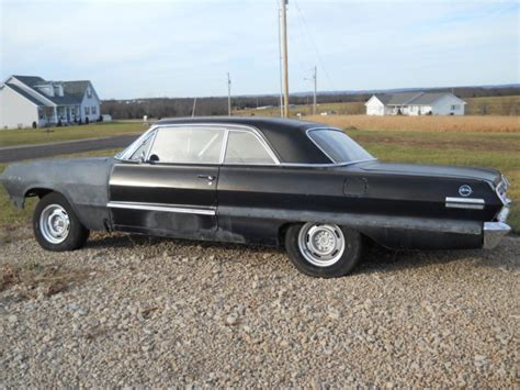 Two Door Cars For Sale by 1963 Chevy Impala 2 Door Hardtop Project Car For Sale