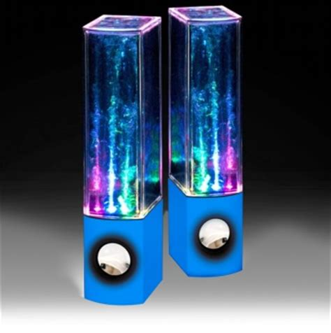Speaker Multi Colour Led With Water Effect T3009 2 water speakers