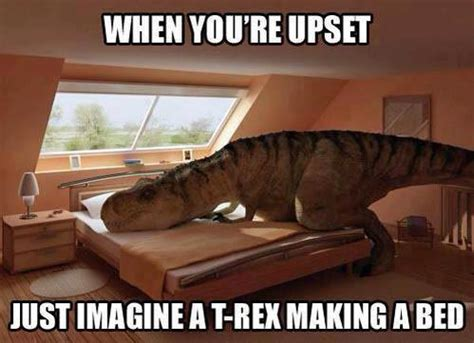 trex making bed t rex making a bed ned martin s amused