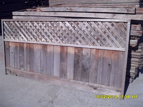 fence sections for sale fence panels randazzo salvage