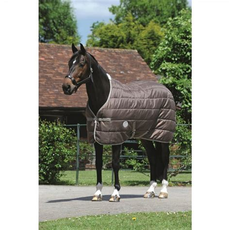 weatherbeeta lightweight stable rug weatherbeeta channel quilt 210d light stable rug walnut cobblestone