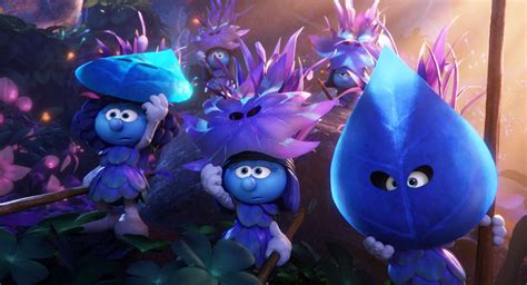 smurfs the lost smurfs the lost poster takes you to a whole blue