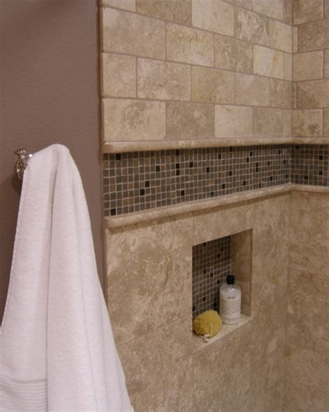 Bathroom Shower Tile Niches Accent Tiled Niche