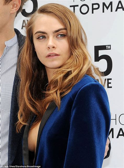 tattoo london topshop cara delevingne goes topless under androgynous suit at