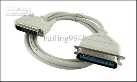 Cable Paralel Printer 1 5m 4 9ft 25 pin parallel port printer cable 25 pin
