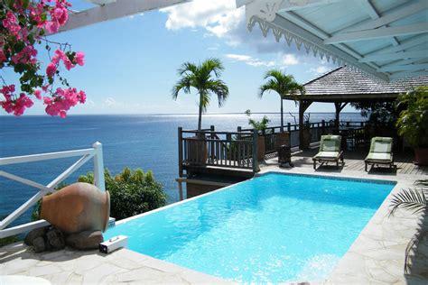 Location villa luxe piscine, vue mer, 12 personnes, Anses d'Arlet