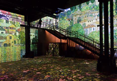 designboom gustav klimt gustav klimt s works drip with life from these giant wall