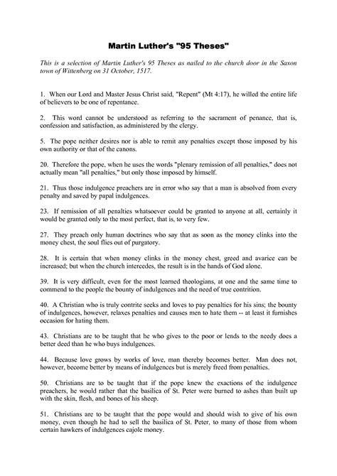 thesis about translation pdf 95 theses in english www imgkid com the image kid has it