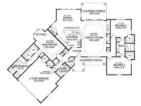 angled house plans eplans country house plan angled ranch boasts dramatic