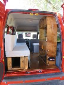 Ford Transit Rv Conversion 2002 2013 Ford Transit Connect Cer Conversion