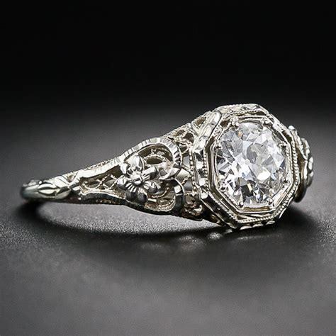 1920s art deco engagement rings wedding promise