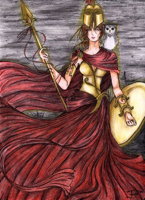 Connec Athena pallas athena by isinasinned deviantart on deviantart pallas athena