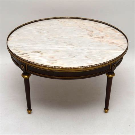 Large Antique French Marble Top Coffee Table C 1910 Antique Marble Top Coffee Table