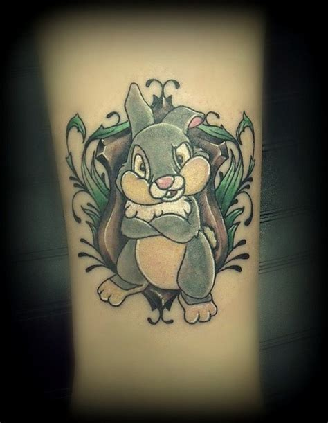 thumper tattoo thumper badass inky
