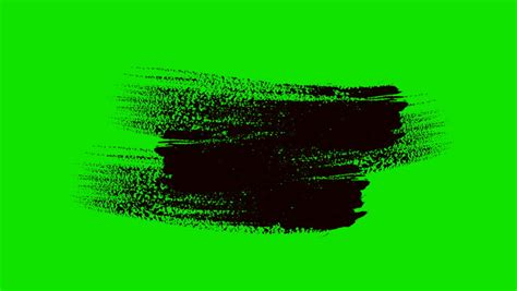 green screen paint brush animation stock footage 7063690