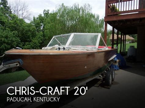 caravelle jet boat for sale used 1963 chris craft caravelle 20 in paducah