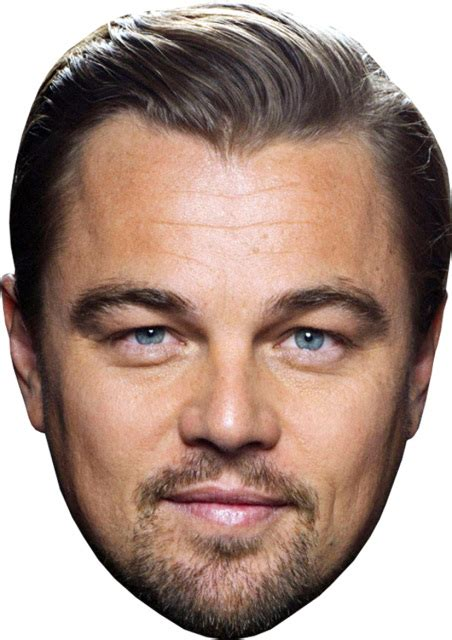 printable leonardo mask leonardo dicaprio diy celebrity face mask kit