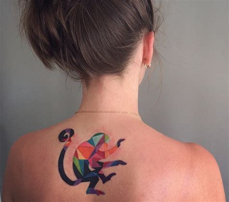 watercolor animal tattoo 21 watercolor animal tattoos even your parents would