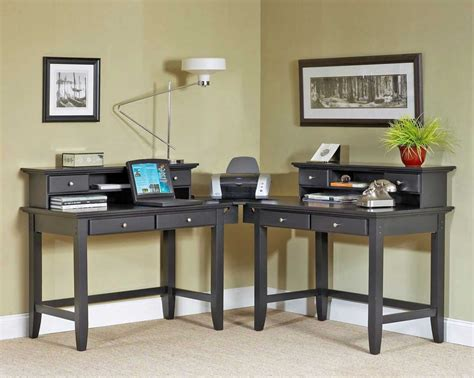 2 Person Corner Desk Home Furniture Design