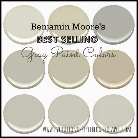 Neutral Color Bedroom benjamin moore s best selling grays evolution of style