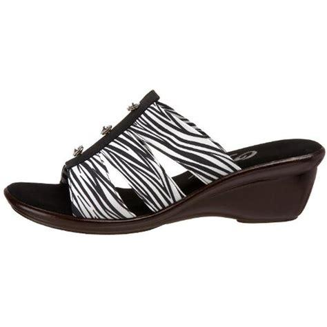 zebra print sandals onex 9361 womens miley zebra print jeweled slide wedges