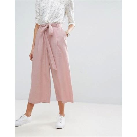 Asos Linen Culotte Trousers best 25 culotte ideas on culottes style