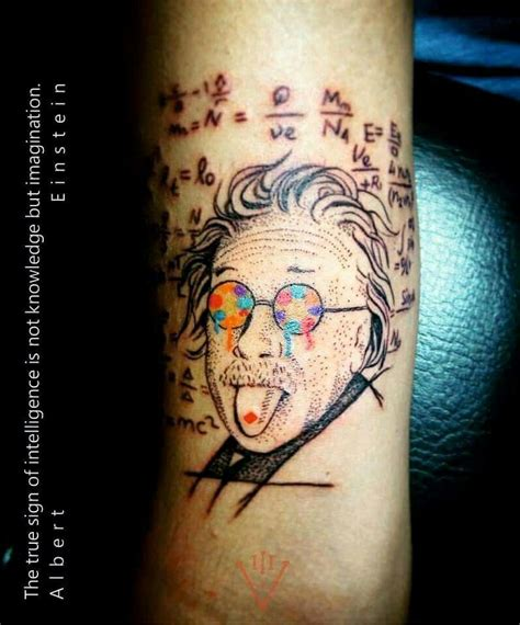lsd tattoo lsd albert einstein design void addict